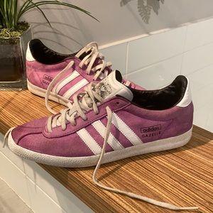 ADIDAS GAZELLE Sneaker Size 6 Purple